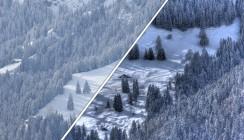 HDR-Aufnahme, Vergleich